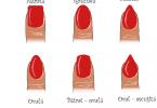 Ce formă a unghiilor ți se potrivește?